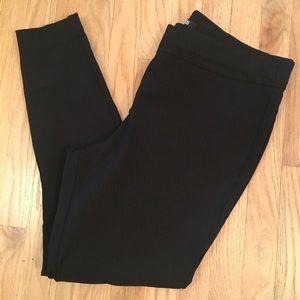 Apt 9 black patterned pull on dress pants 18W
